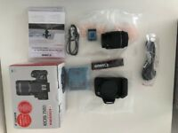 Canon EOS EOS 750D 24.2MP Digital SLR Camera black - Kit with 18-55mm Lens (brand new)