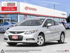 2013 Honda Civic LX One Owner, No Accidents