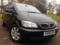 7 Seater Zafira 1.6 2005 Mot March 2017 Alloys 1 former Keeper Low Mileage very economical