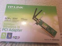 Wireless PCI expansion card 300Mbps Unused