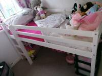 Shorty high bed frame only