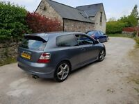 Honda Civic Sport Type S Vtec EP2 Cosmic Grey Long MOT