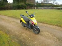 SCOOTER 50 cc KYMCO RS 12 MONTHS MOT FULLY SERVICED RELIABLE BIKE