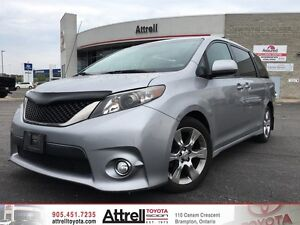 2011 Toyota Sienna SE. Fog Lights, Moonroof, Backup Camera.