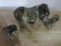 SWAROVSKI GORILLA AND CUBS SCS ANNUAL EDITIONS BOXED RETIRED