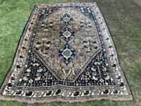 Large Handmade Persian Qashghaei Rug
