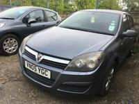 2005 VAUXHALL ASTRA 1.7CDI 5 DOOR HATCHBACK, MOT APRIL 2019, GOOD CONDITION, PX TO CLEAR