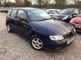 Seat Ibiza 1.4 Chill Hatchback 5dr Petrol Manual. HPI CLEAR. LOW MILEAGE. 1 YEAR MOT. P/X WELCOME