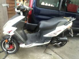 moped 49cc moped 49 cc scooter, make is a soni. SELLING HAS SPARES OR REPAIRS. REDUCED TO £250 . .