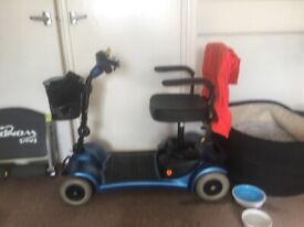 Little gem mobility scooter new battery's bag basket fits into car boot no offers