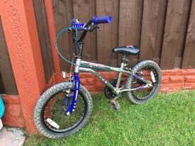 """Boys 16"""" bike stunt king can deliver for a small charge"""