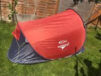2 man quick pitch ss tent