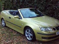 Saab 9-3 Vector T (yellow) 2003