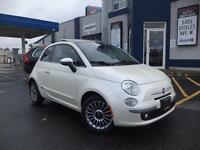 2012 FIAT 500 LEATHER, PANORAMIC!! 416-742-5464 CLEAN CAR PROOF
