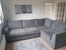 Large corner dfs sofa