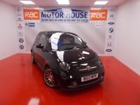 Abarth 595 (TURISMO) FREE MOT'S AS LONG AS YOU OWN THE CAR!!! (black) 2013