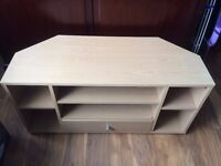 TV STAND with CD compartments and drawer