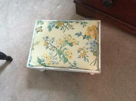 Laura Ashley footstool