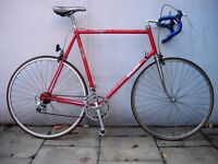 Vintage 1980's Road/ Touring/ Commuter Bike by Raleigh, 60 cm Frame, JUST SERVICED/ CHEAP PRICE!!!