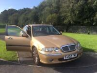 Rover 45 2002 51k miles MOT Bargain / Cheap Car