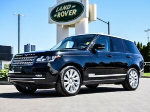2015 Land Rover Range Rover SUPERCHARGED CPO WARRANTY UP TO 160,