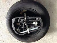 Brand new spare wheel