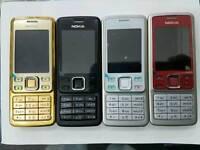 Orignal Nokia 6300-Gold,Red,Silver,Black(Unlocked)Brand New With Warranty