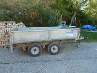 Ifor Williams LT85G trailer. 8' x 5' superb - GALVANISED FLOOR