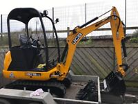 SELF DRIVE OR OPERATED DIGGER HIRE