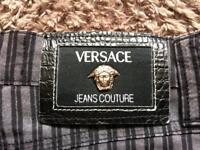 Size 10-Vintage Versace striped trouser