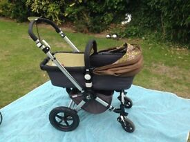Bugaboo Chameleon with Limited addition Paul Frank Scurvey Fabric, complete Travel system