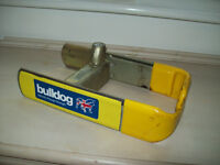 Bulldog Security External Wheel Lock for Motorhome or Caravan