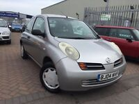 2004 04 NISSAN MICRA 1.2 SUPERB DRIVE VERY TIDY CONDITION LOW TAX AND INSURANCE GROUP CHEAP BARGAIN