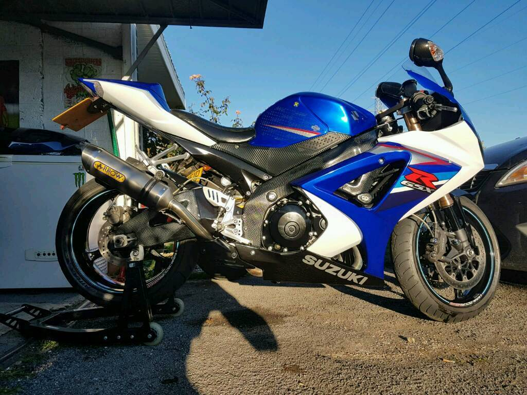 suzuki gsxr 1000 k7 2007 in southampton hampshire gumtree. Black Bedroom Furniture Sets. Home Design Ideas
