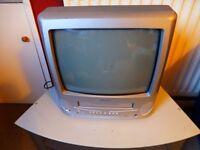 Bush TV/ Video Combo, plus videos in video box