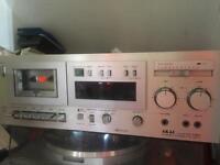 Akai GX-M50 triple head tape cassette triple head deck player