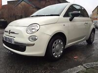 Fiat 500 1.2 Pop 3dr, Start/Stop, Warranted Mileage, Cheap TAX and Insurance.