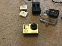 go pro hero 4 4k action camera recorder with accessories