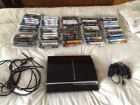 PlayStation 3 plus 68 games