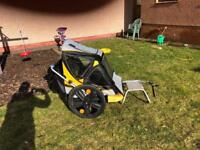 Belleli 2 child bicycle trailer