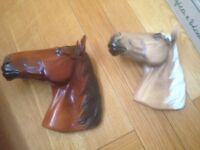 Two boson collectable horses