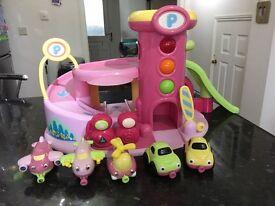 ELC Pink Garage