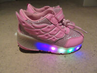 Kids Roller Shoes LED 12.5