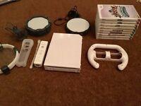 Nintendo Wii and Games Bundle!!!