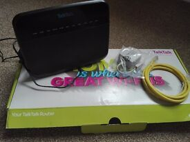 TALK TALK simple broadband router