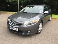 Honda accord 2.2L EX I-DTEC new shape saloon grey executive model fully loaded good condition