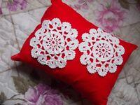 Unique handmade doilies and decorative pillow cases