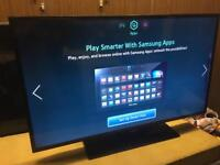 "Samsung 46"" LED Tv freeview smart Apps wi-fi Warranty Free Delivery"