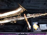 tenor sax player available to form duo/trio or join band etc etc