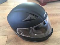 Motorbike gear; jacket, trousers, gloves, helmet